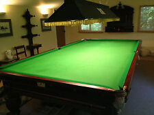 Full Size Antique Snooker Table 12 Ft 12 Foot
