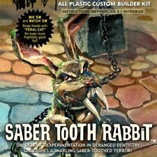2016 Dr. Deadlys The Saber Tooth Rabbit 1/13  Monster Scenes  NEW Model Kit
