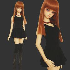 Hot Sale Black All-match Dress+T-shirt For 1/3 1/4 LUTS AS MSD BJD Suit/Clothes