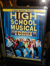High School Musical (DVD) 2-Disc Set! Remix Edition! Disney Channel Movie! NEW!