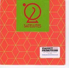 (EA800) Satellites, Wasteland - 2013 unopened DJ CD