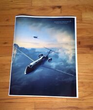 Lockheed Martin poster Us Army military jet plane Aerial Common Sensor