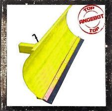 Universal Räumschild für Einachser oder Rasentraktor Gelb 100x40 cm Winter