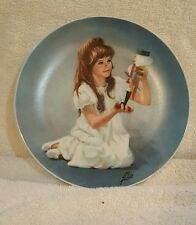 """Fine China by Viletta""""Clara and Nutcracker"""" 1978 Limited Edition Collector Plate"""