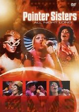 THE POINTER SISTERS - ALL NIGHT LONG -LIVE IN 1974   DVD -FREE POST IN UK