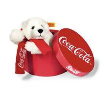 Steiff coca cola ours polaire dans un étui rouge-ean 355356