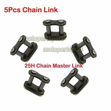 Gas Scooter 25H Chain Master Links 5Pcs For ATV Quad Dirt Pocket Bike Mini Moto
