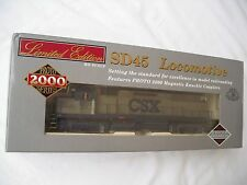 Life-Like Proto 2000 30725 SD45, CSX 8901, Diesel Locomotive Engine, HO Scale