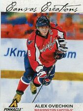 11/12 Pinnacle Chemistry On Canvas #5 Alex Ovechkin