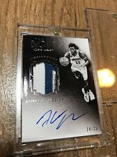 2015/16 Panini Noir Andrew Wiggins #/25 Patch Jersey Timberwolves AUTO Autograph