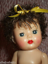 "Curly Poodle Cut Semi-Sweet Color Wig for Muffie or Ginny 7-8""Dolls & 5-6"" Head"