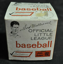 Ted WIlliams Official Little League Baseball - Sears (1960s) WH