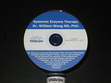 SYSTEMIC ENZYME, VITALZYM, INFLAMMATION, CD, ENZYMATIC THERAPY, FIBROIDS,ANGINA