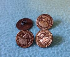 Antique 18mm Austria Brass BUTTON - MAXIMILIANUS 1493 POT MAX INV CAES