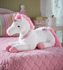 HearthSong® Dazzle the Unicorn - Plush Unicorn for Children