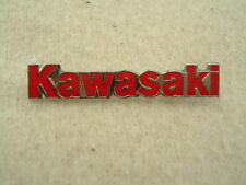 VERY UNUSUAL GENUINE KAWASAKI EMBLEM MOTIF GPZ Z ZXR ZX KX KXF PIN BADGE