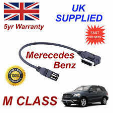 Mercedes Benz M CLASS MP3 MEMORY Stick USB Cable Media Interface