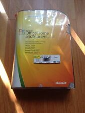 Microsoft Office 2007 Home and Student for 3 PCs - Full Retail Box Version