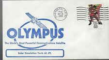 10/30/84 Olympus Worlds most Powerful Com Satellite Test