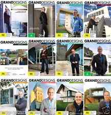 Grand Designs Series COMPLETE COLLECTION - Seasons 1 - 12 - NEW DVD