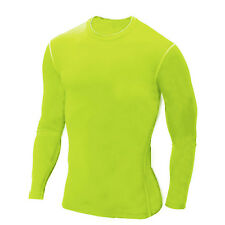 Men's Compression Base Layer Tops Thermal Athletic Apparel T-Shirts Pants Shorts
