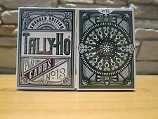 Kings Wild Project Emerald Tally-Ho Display Edition Playing Cards