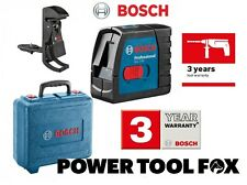 4 seul Bosch GLL2-15+BM3 cross line laser level & mount 06159940FH 3165140839808