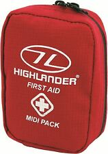 First Aid MIDI Pack - Medium Sized Pack Ideal for Travel Camping Emergency FA101