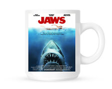 JAWS MOVIE POSTER 11oz CERAMIC MUG BIRTHDAY CHRISTMAS GIFT FATHERS DAY
