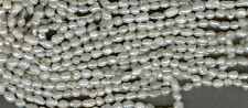 CLEARANCE  FRESHWATER PEARLS, QUALITY WHITE RICE PEARLS,  WHITE  BEADS