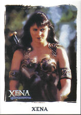 XENA ART AND IMAGES PROMOTIONAL CARD P1