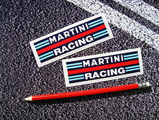 2 X MARTINI RACING STRIPE STICKERS DECALS LE MANS F1 SUPERCUP GT3 RS 911 CARRERA