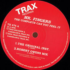 M. Fingers-the complete Can you feel it-tx476 (houseclassics vinyle)