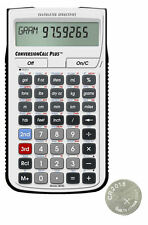 New Calculated Ind. ConversionCalc Plus Calculator 8030 w/Spare CR2016 Battery