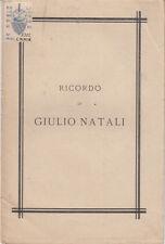 COLLE DI BUGGIANO PER RICORDO DI GIULIO NATALI ALCUNI AMICI 1884 VALDINIEVOLE