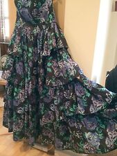 VINTAGE AND RARE LAURA ASHLEY COTTON BALLGOWN SIZE 16