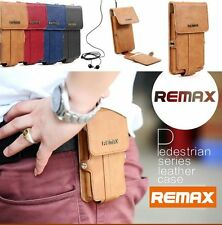 REMAX Pelle Business MESSENGER BAG WALLET CASE Iphone 6 SUMSUNG Nota 2 3 S5