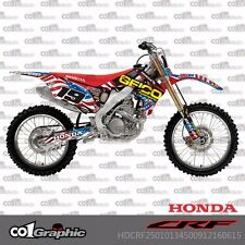 HONDA CRF250R 2010-2013 CRF450R 2009-2012 CO1 GRAPHICS KIT DECALS STICKERS