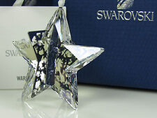 SWAROVSKI CHRISTMAS ORNAMENT STAR, CRYSTAL MOONLIGHT MIB #1140007