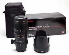 Sigma DG 70-200mm f/2.8 APO HSM EX DG OS Lens For For Canon