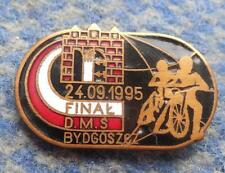 FINAL WORLD CHAMPIONSHIPS TEAM SPEEDWAY POLAND BYDGOSZCZ 1995 PIN BADGE