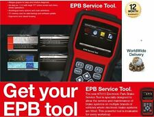 FOR ELECTRONIC CALIPER PARKING BRAKE EPB TOOL RESETS SCANNER BRAKE PADS REPLACE