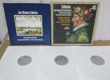 J.D. ZELENKA: Orchestral Works / Camerata Bern / Archiv 2710 026 / NM/Ex 3 LP