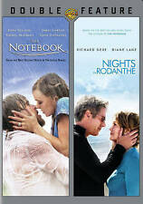 NEW ROMANCE 2 DVD SET THE NOTEBOOK NIGHTS IN RODANTHE  FREE FAST 1ST CLS S&H