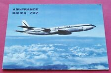 CPA AVIATION CIVILE 1967 AIR FRANCE BOEING 707 LONG COURRIER INTERCONTINENTAL