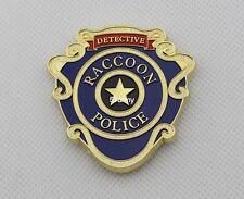 RPD Badges Resident Evil Biohazard Raccoon Detective Police Badge S.T.A.R.S.