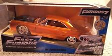 Jada Fast & Furious 7 Dom's Plymouth Road Runner 1:24 Die Cast Car Copper