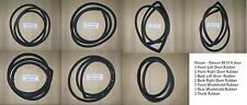 Weatherstrip Door Windshield Seal Rubber set for Datsun 1200 B110 4 Doors