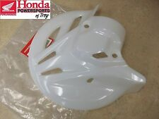 NEW OEM 04 05 06 07 HONDA CR125R CR 125 FRONT FORK DISC ROTOR GUARD COVER