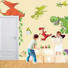 Animales Dinosaurio Dragón Vinilo Adhesivos Pared Infantil Cuarto Del Bebé